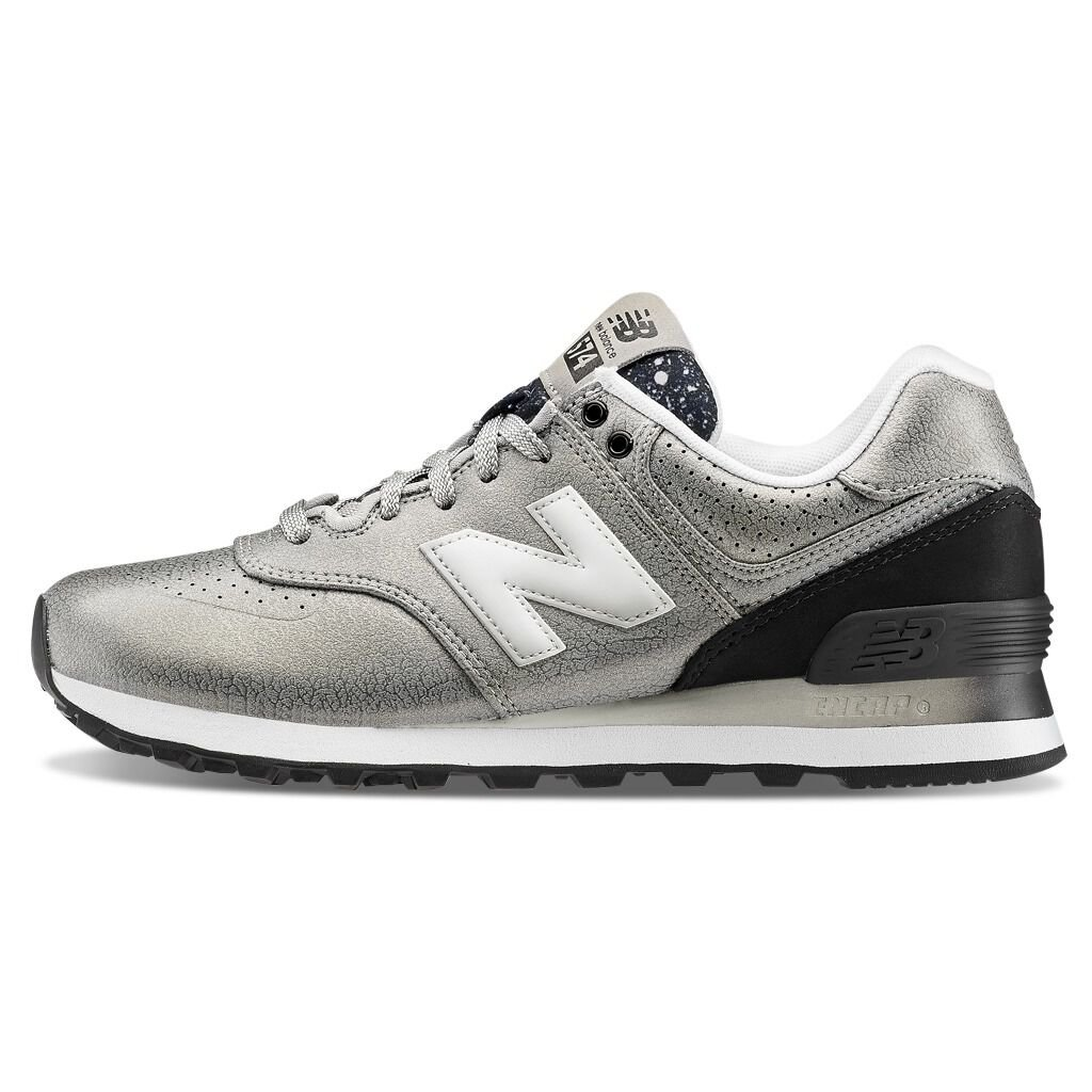 Zapatillas New Balance 574 Gradient plateadas - AW LAB